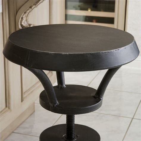 Top Bar Stools by Noble House Bertha Rustic Top Bar Stool Ebay