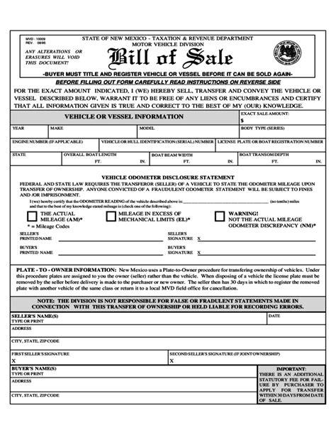 nm motor vehicle car bill of sale nm car pictures car