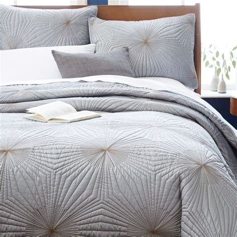 modern coverlet trendy modern bedding possibilities for fall