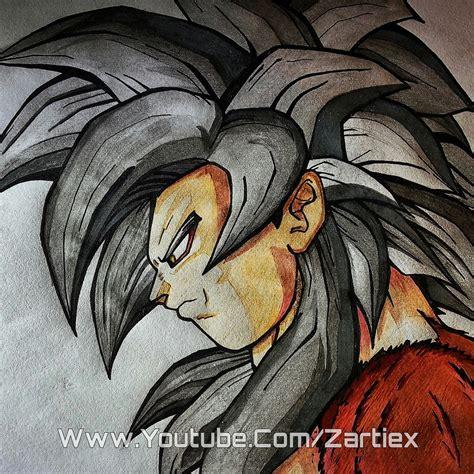 imagenes de goku graffitis goku ssj4 dragon ball gt como hacer letras 3d de