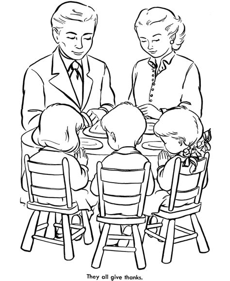educational thanksgiving coloring pages praying before eat educational thanksgiving coloring pages