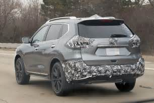 Nissan One 2017 Nissan Rogue Spied With Cosmetic Updates Autoevolution