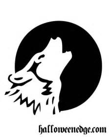 wolf stencil template 6 best images of printable pumpkin carving stencils wolves