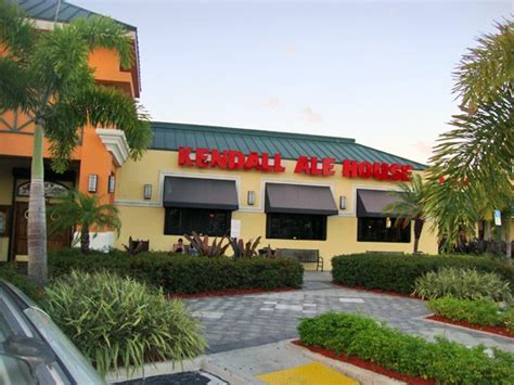 Kendall Ale House East Kendall Pinecrest Brewery Seafood Restaurant Miami New Times