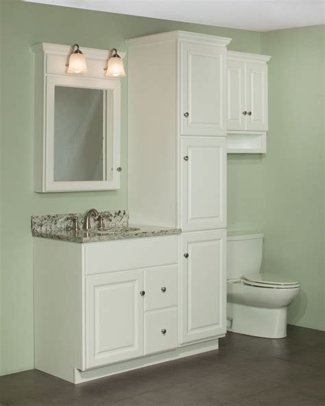 vanity with linen cabinet 30 quot quentin vanity and linen cabinet ensemble the newport