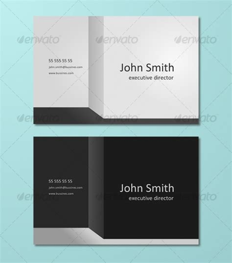 3d business cards templates 3d business premium template best namecard dise 241 o