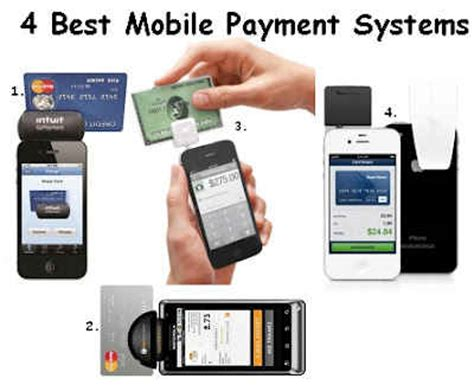 best payment system 4 best mobile payment systems