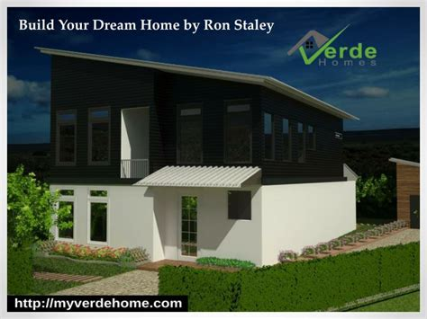 create your dream house ppt build your dream home by ron staley powerpoint