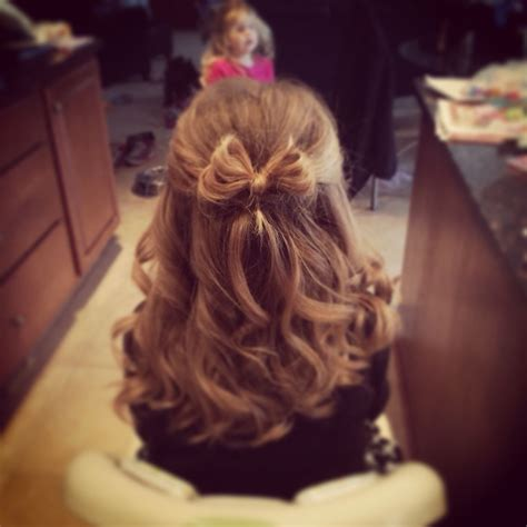 Hairdos For Girl For Father Daughter Dance | my nieces hair for her first dance her daddy daughter