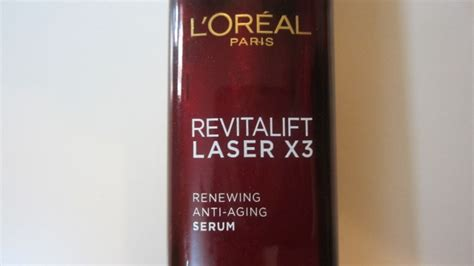 L Oreal Anti Aging l oreal revitalift laser x3 renewing anti aging serum review