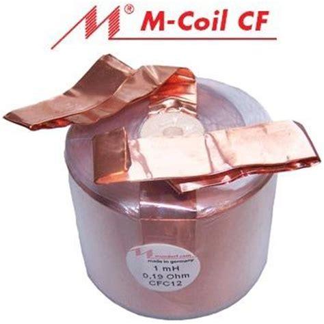 foil wound inductors mundorf air copper foil coils cfc range hifi collective