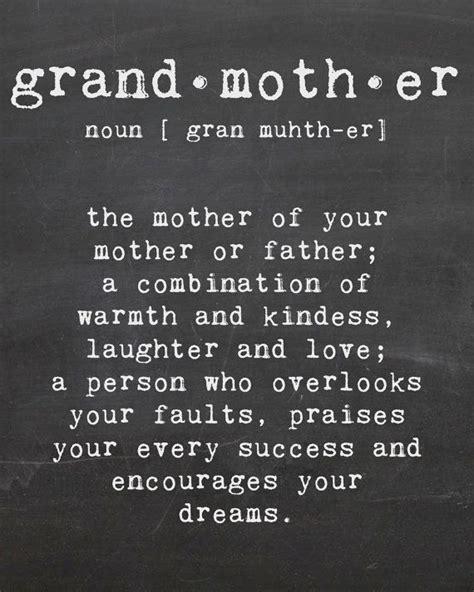 printable grandma quotes grandmother printable chalk wall art by aandlbanners on