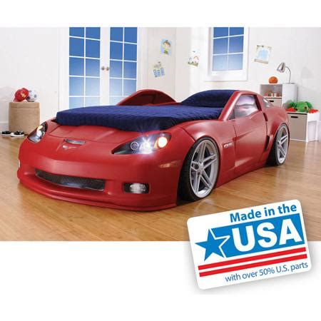 step2 corvette toddler to twin bed with lights red cheap step 2 toddler car bed find step 2 toddler car bed
