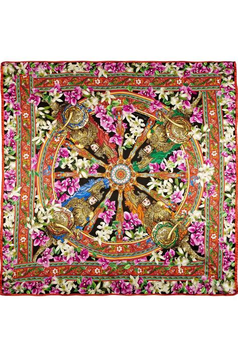 Print Silk Scarf r 233 veillon arc en ciel printed silk silk scarves and scarves