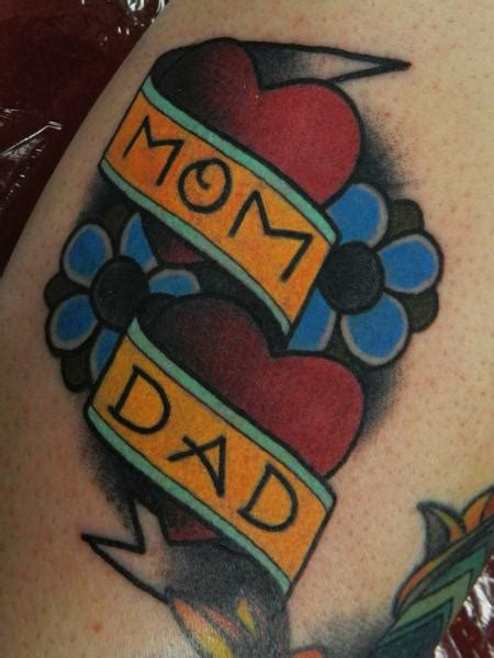 tattoo old school mom dad traditional mom and dad tattoo by james dean tattoonow