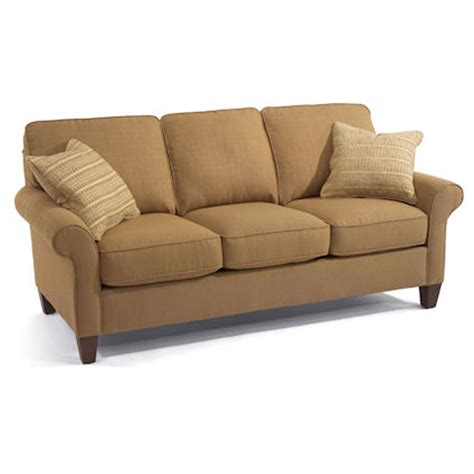 flexsteel 5979 30 westside sofa discount furniture at