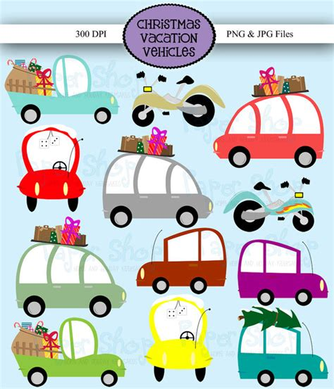 christmas jeep clip art vacation vehicles clipart car clip art christmas vacation