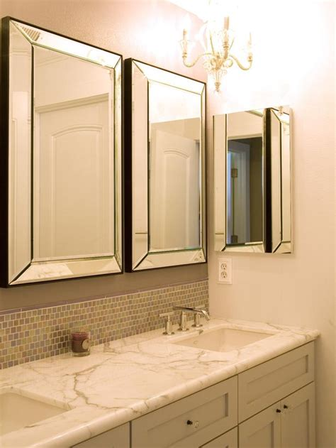 Mirrors For Bathroom Vanities Contemporary Bathroom Photos Hgtv