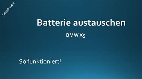 Gel Batterie Bmw 1er Kosten by Bmw Batterie Wechseln Auto Bild Idee