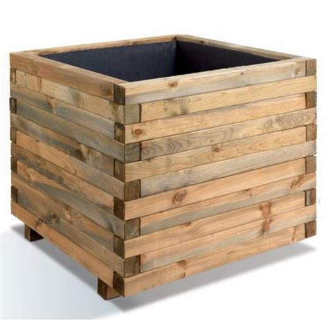 square wooden planter stockholm 100 buy square wooden