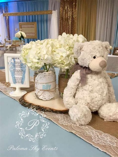 teddy baby shower centerpieces burlap baby shower baby shower ideas burlap baby showers burlap baby and baby shower