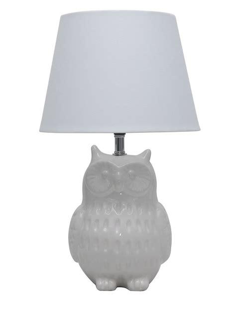 Oratory Owl Multicolour Table Lamp Departments DIY At BQ