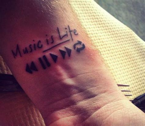 music is life tattoo designs tattoos for ideas and inspiration for guys