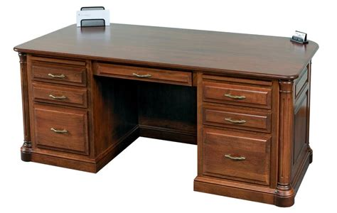 Amish Executive Desk by Jefferson Premier Executive Desk From Dutchcrafters Amish