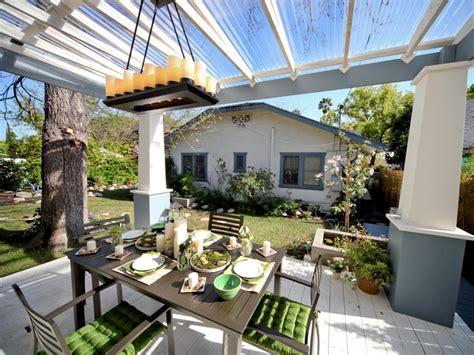 plastic pergola roof photo page hgtv
