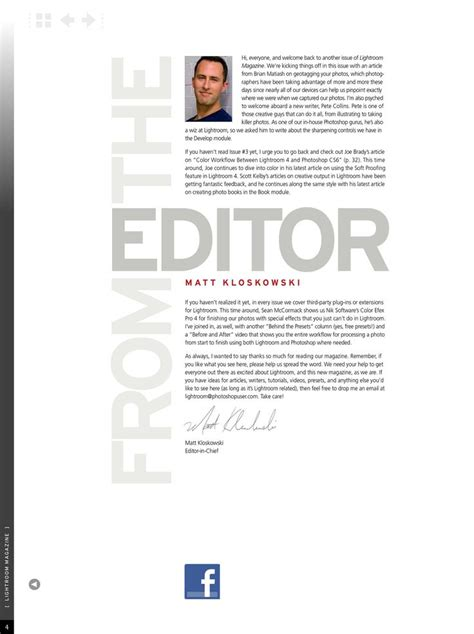 design editor magazine this is a straight forward editor s note design the