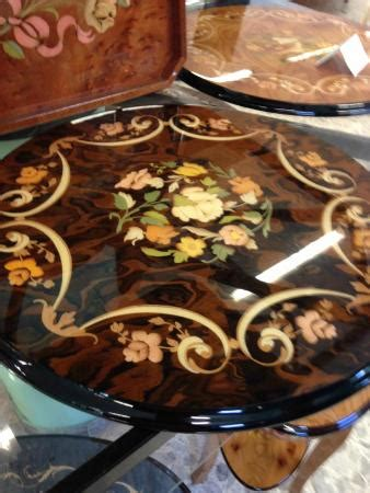 sorrento inlaid wood factory decorative pedestal table picture of notturno intarsio