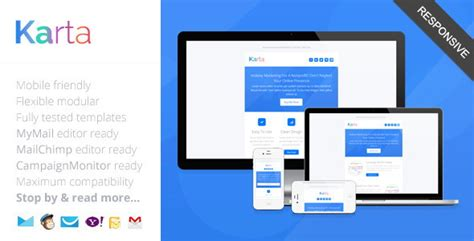 How To Make A Responsive Email Template by 35 Best Responsive Html Email Templates Free Premium