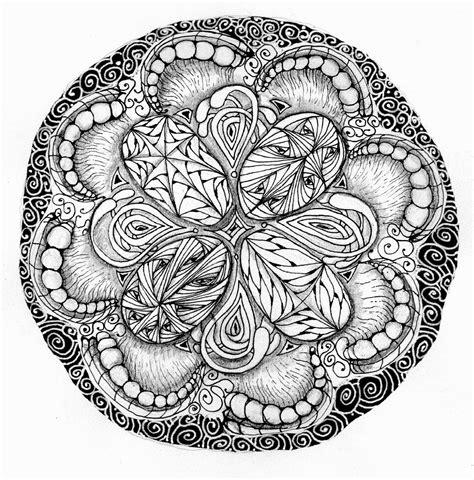 zentangle pattern ibex dobriendesign zendala dare 79 a zendala thanks to rick