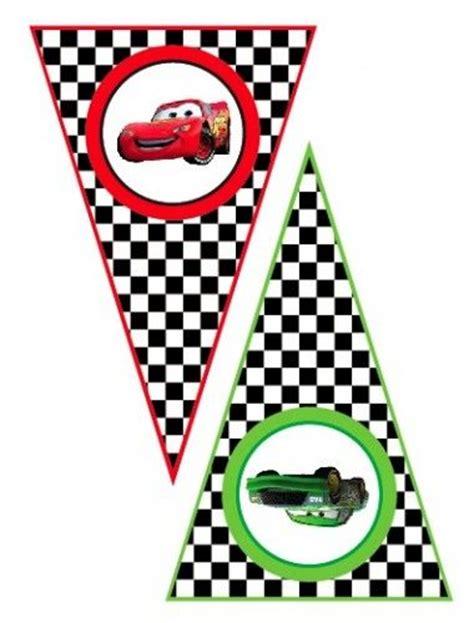 free printable disney banner printable banner lightning mcqueen and disney cars on