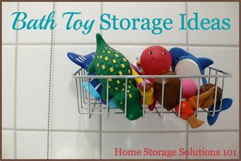 bathtub toy storage ideas bath toy storage organization ideas