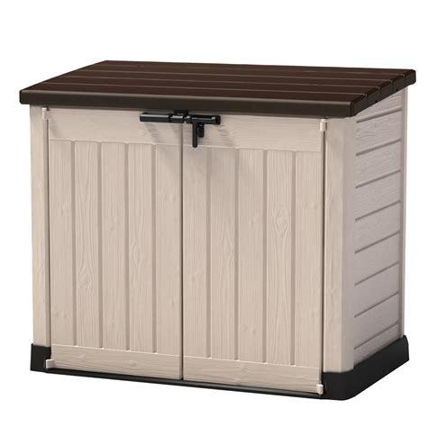 garten aufbewahrungsbox aufbewahrungsbox ger 228 te box garten terrasse beige braun