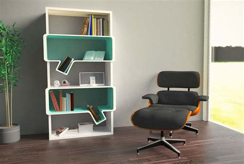 Modern Reading Chair Design Ideas Cool And Unique Bookshelves Designs Freestanding Bookcase Plans Cool Bookcase Plans