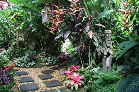 How To Create A Tropical Backyard by Dennis Hundscheidt S Tropical Garden Best Tropical