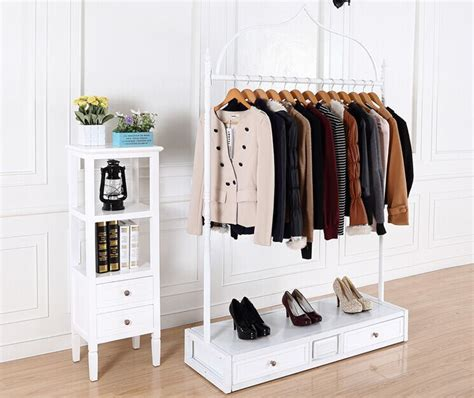 Clothes Rack With Drawers by Iron Clothing Rack Clothing Store Display Rack Clothes