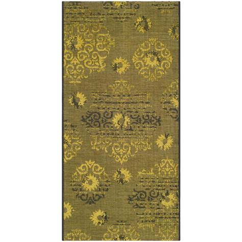 black and green area rugs safavieh palazzo black green 4 ft x 6 ft area rug pal129 56c10 4 the home depot