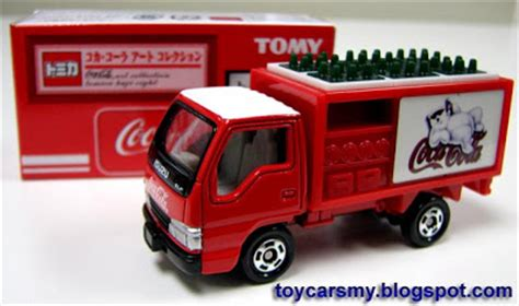 Truck Cocacola Series By Tomica toycarsmy inventory tomica coca cola trucks collection