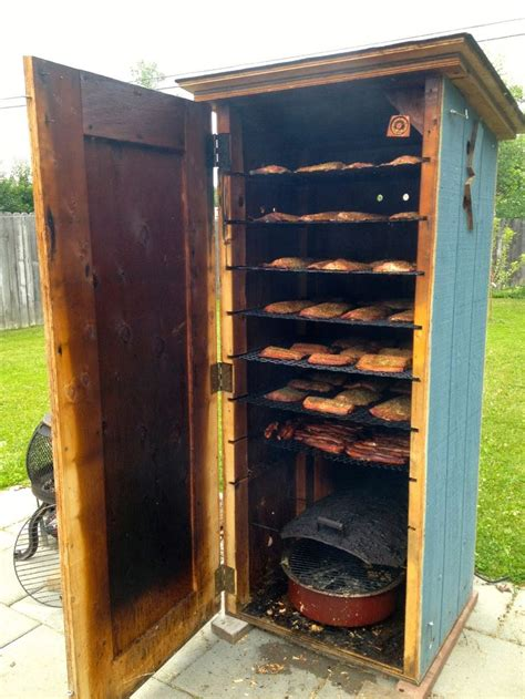 home made smoker plans 25 best ideas about homemade smoker on pinterest