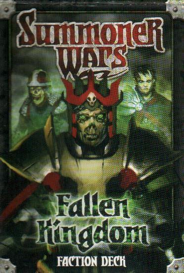 summoner wars decks summoner wars fallen kingdom faction deck allt p 229 ett kort