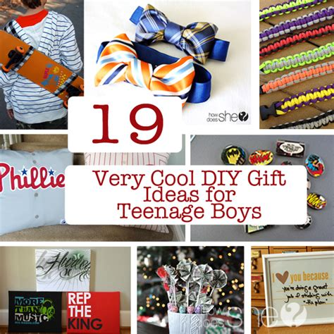 19 year old christmas gift 19 cool diy gift ideas for boys in your