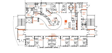floor plan of proposed new banking quarters for the royal bank of canada vancouver b c midland states bank effingham