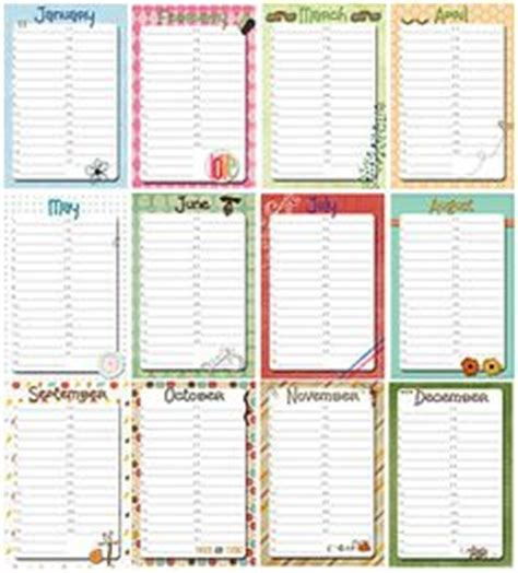 J Sarge Calendar Free Printable Perpetual Calendars The Birthday Display