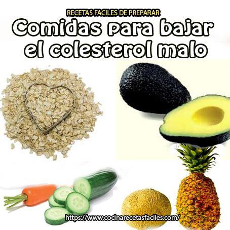 que alimentos comer para bajar el colesterol que se puede comer para bajar el colesterol dietas de