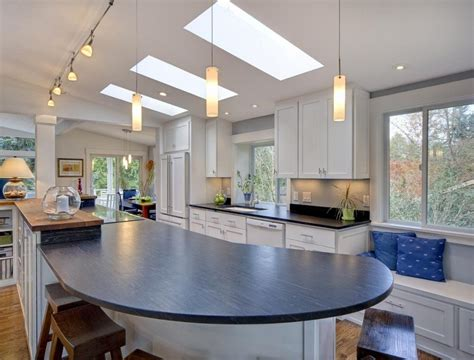 sunken kitchen 20 beautiful kitchen designs with skylights