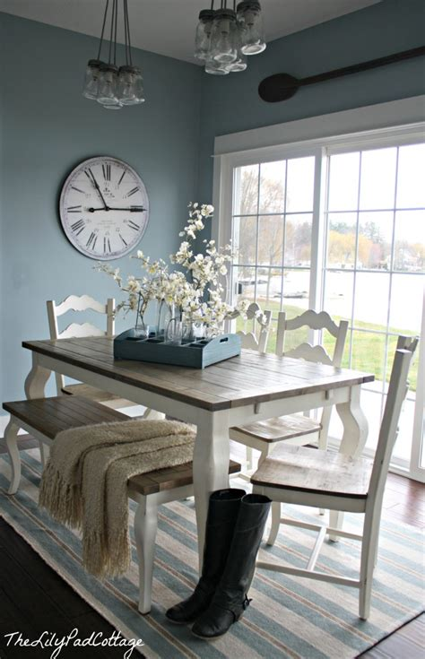 kitchen table colors summer showcase of homes house tour the lilypad cottage