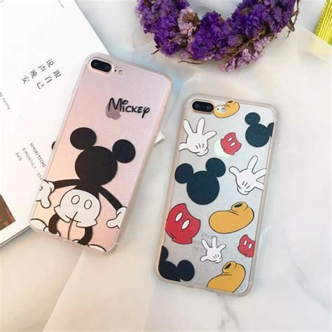 Mickey And Minnie Mouse Q0214 Iphone 7 Plus Casing Premium Hardcase for apple iphone 7 8 plus mickey mouse cover for iphone 5 5s 6 6s 6 plus